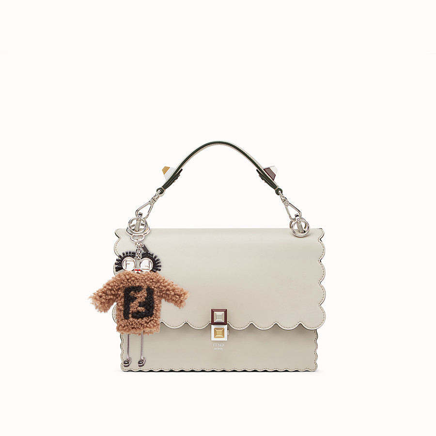 FENDI TEEN WITCHES CHARM - Brown sheepskin charm - view 3 detail