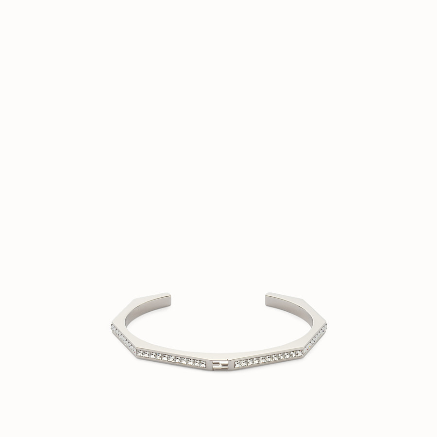 FENDI BAGUETTE BRACELET - Baguette bangle with crystals - view 1 detail