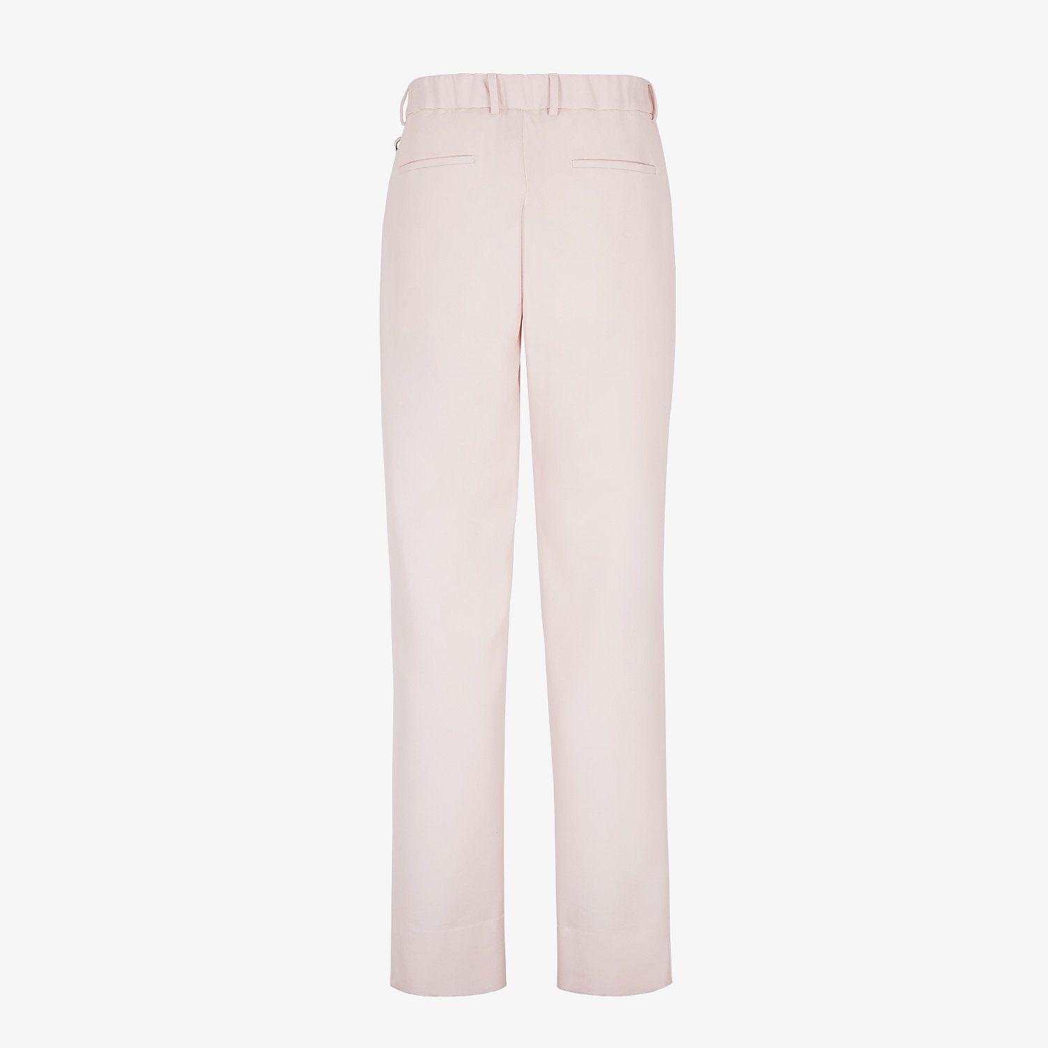FENDI TROUSERS - Pink wool trousers - view 2 detail