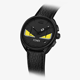 FENDI MOMENTO FENDI BUGS - Chronograph watch with diamonds and strap - view 2 thumbnail