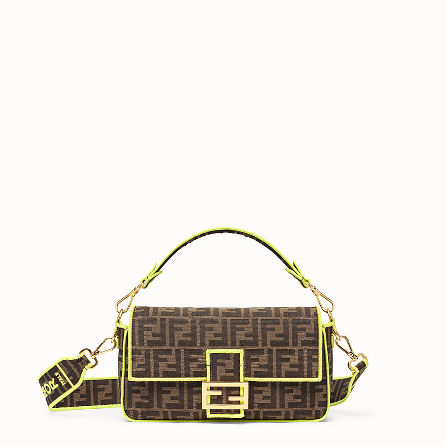 FENDI BAGUETTE - Fendi Roma Amor fabric bag - view 1 detail