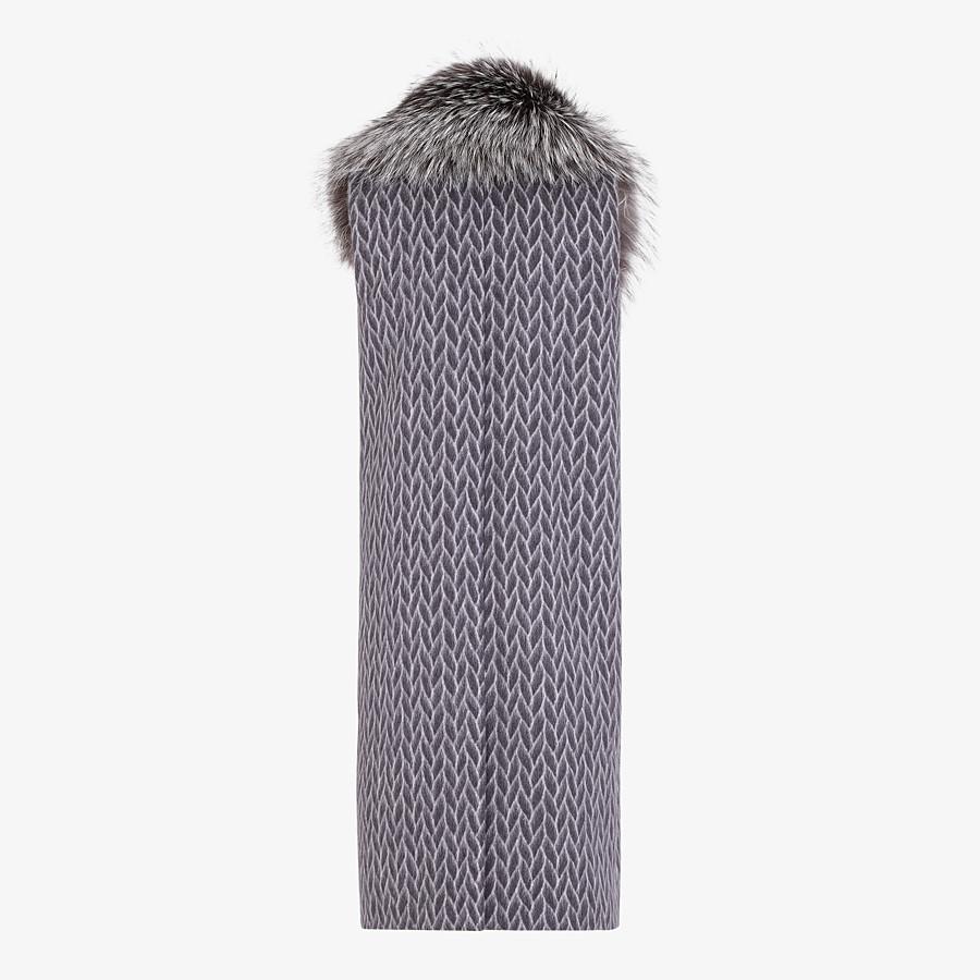 FENDI GILET - Black wool gilet - view 2 detail