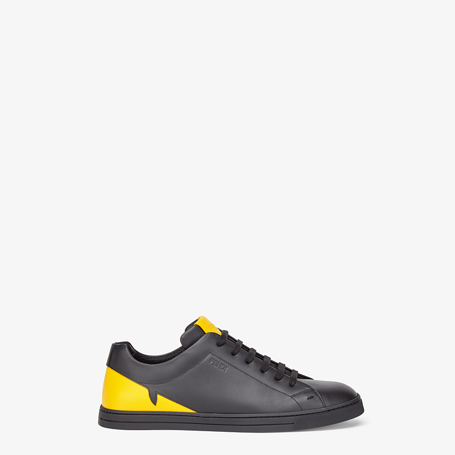 FENDI SNEAKER - Low-Top-Sneaker aus Leder in Schwarz - view 1 detail