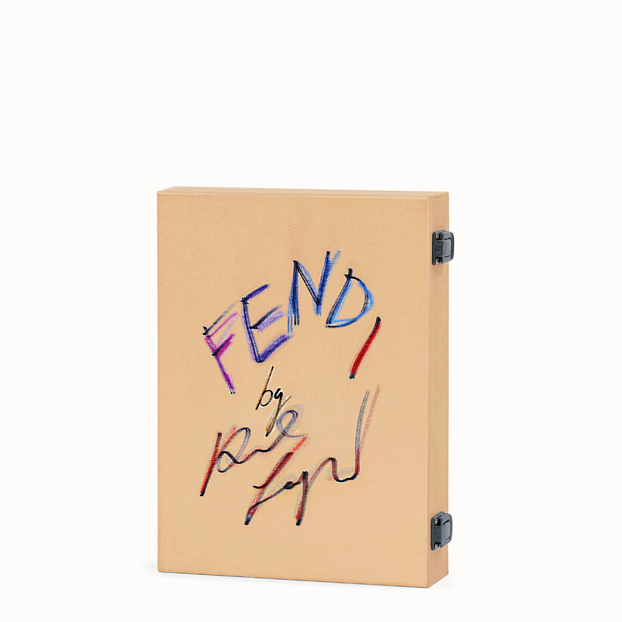 FENDI FENDI BY KARL LAGERFELD - Wooden box with book and DVD - view 1 detail