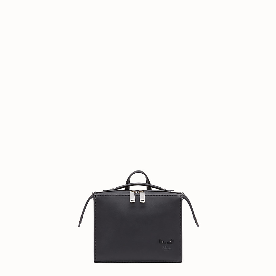 FENDI MINI LUI BAG - Black leather bag - view 1 detail