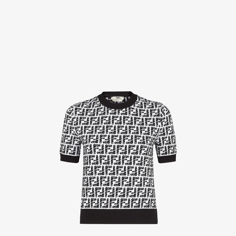 FENDI SWEATER - Fendi Roma Joshua Vides viscose sweater - view 1 detail