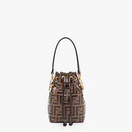 FENDI MON TRESOR - Mini-Tasche aus Leder in Braun - view 1 thumbnail