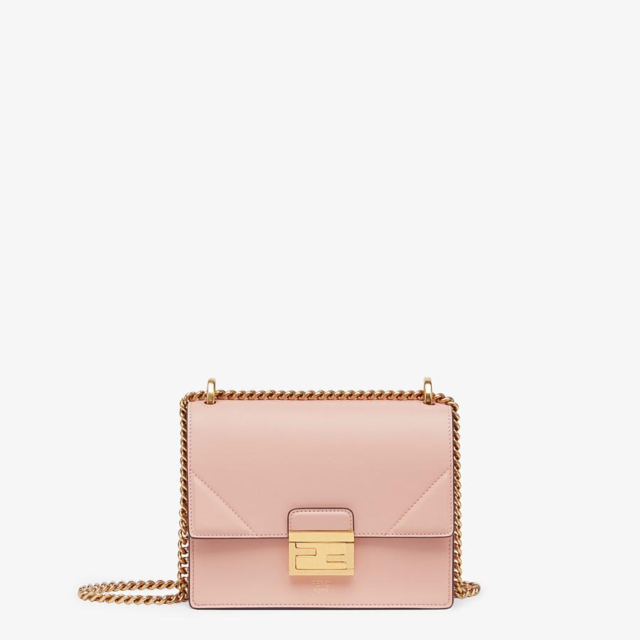 FENDI KAN U SMALL - Pink leather mini-bag - view 1 detail