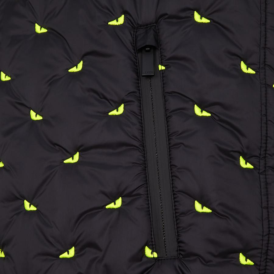 FENDI VEST - Black nylon vest - view 3 detail