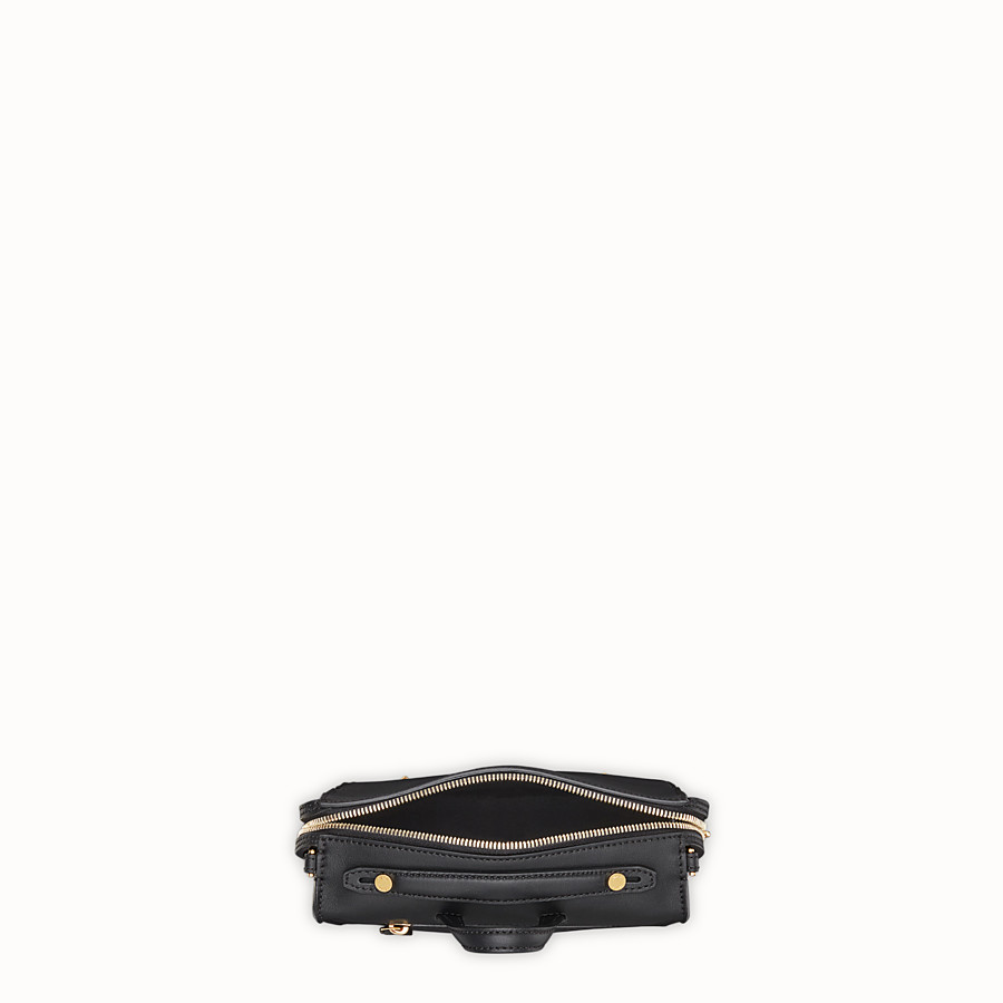 FENDI MINI LUI BAG - Black leather bag - view 4 detail