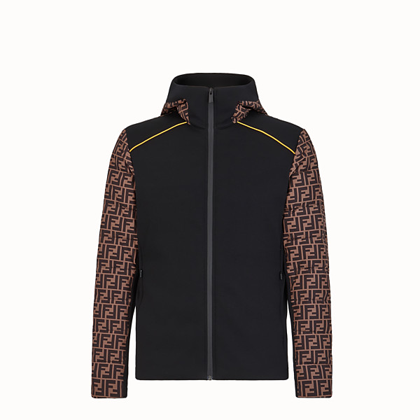 FENDI BLOUSON JACKET - Multicolour tech fabric jumper - view 1 small thumbnail