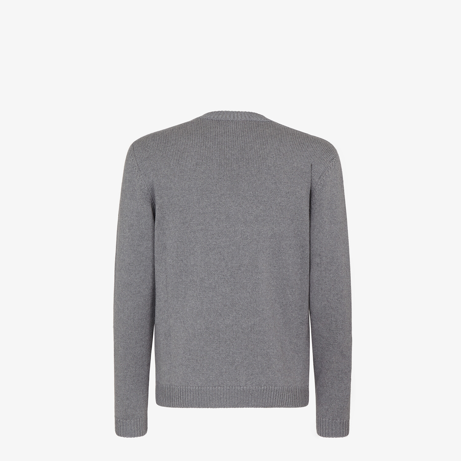 FENDI SWEATER - Gray wool sweater - view 2 detail