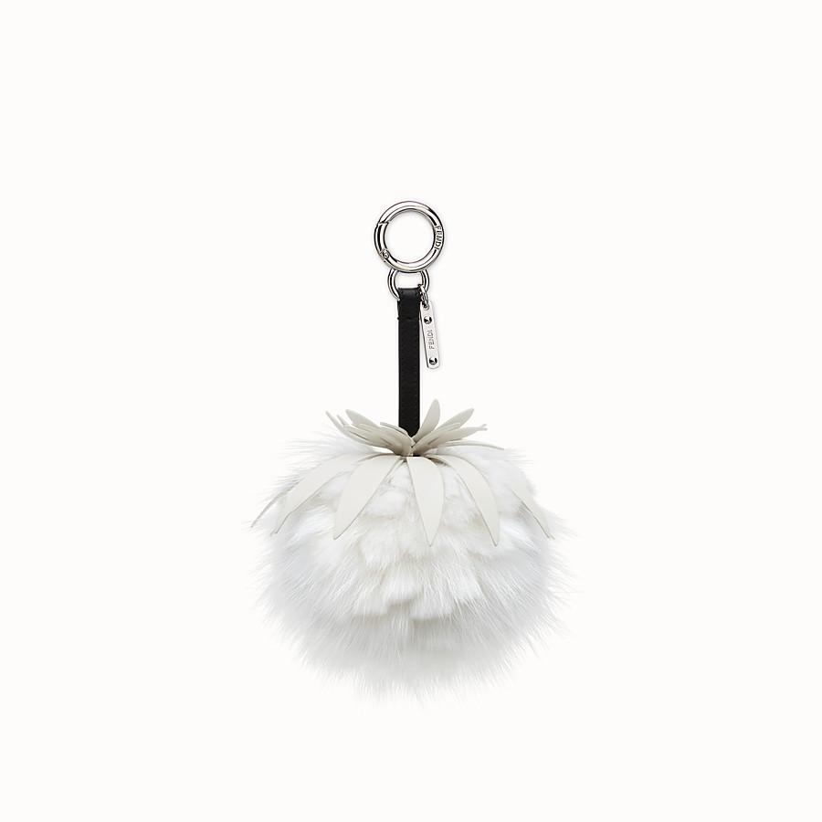FENDI FENDI FRUITS手袋吊飾 - 白色皮草吊飾 - view 1 detail