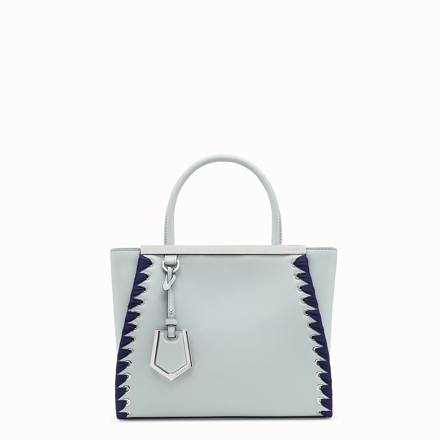 FENDI PETITE 2JOURS - Gray leather bag - view 1 detail