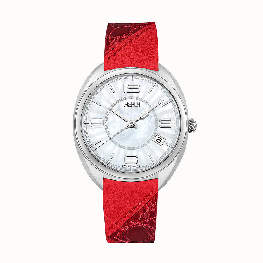 FENDI MOMENTO FENDI - 34 mm - Watch with strap - view 1 detail