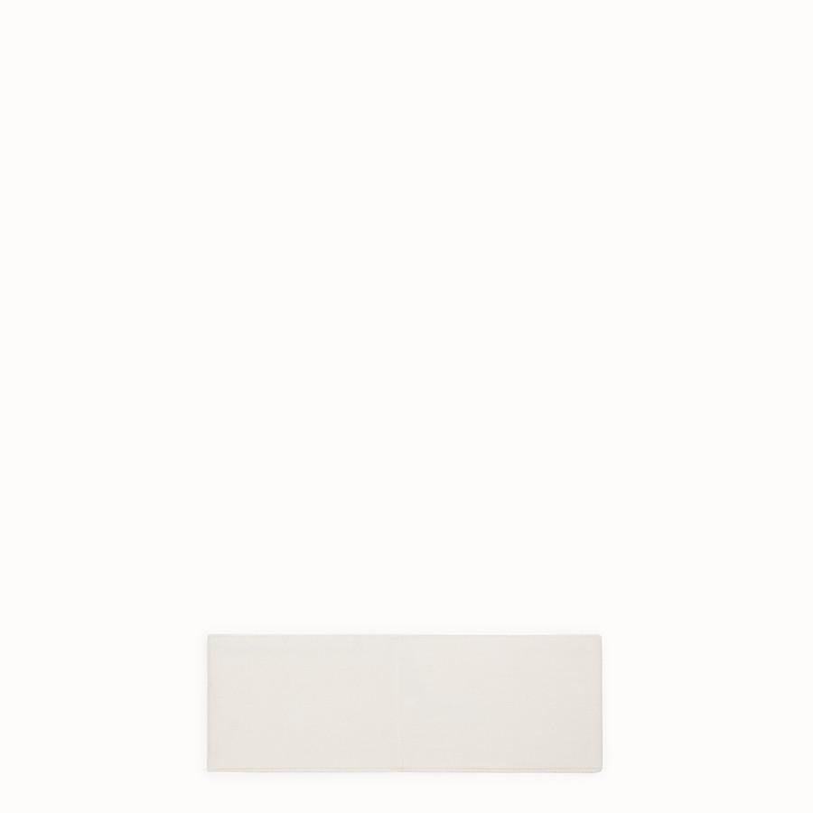 FENDI BAND - White wool band - view 2 detail