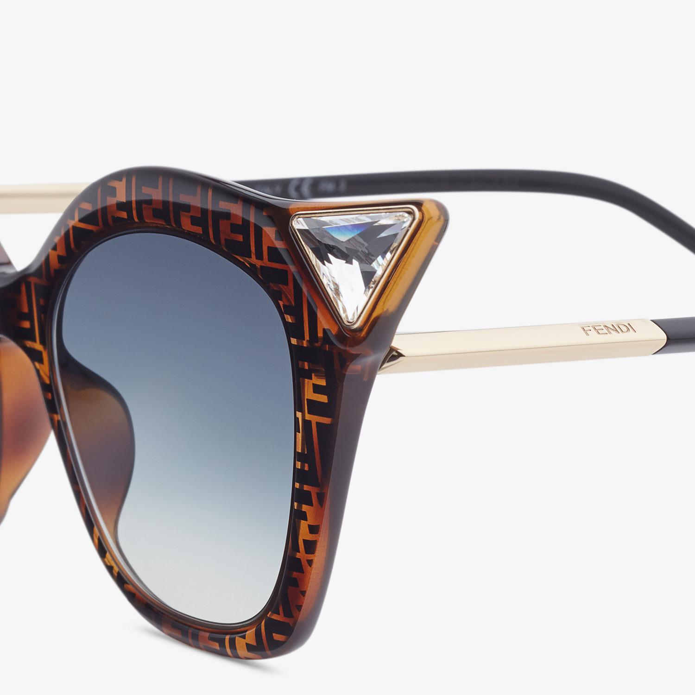 FENDI IRIDIA - Gafas de sol havana FF - view 3 detail