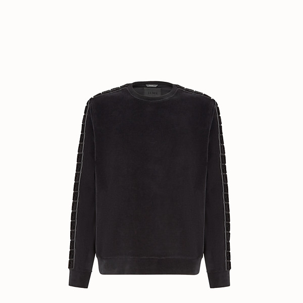 FENDI JUMPER - Fendi sweatshirt for Jackson Wang in chenille - view 1 small thumbnail