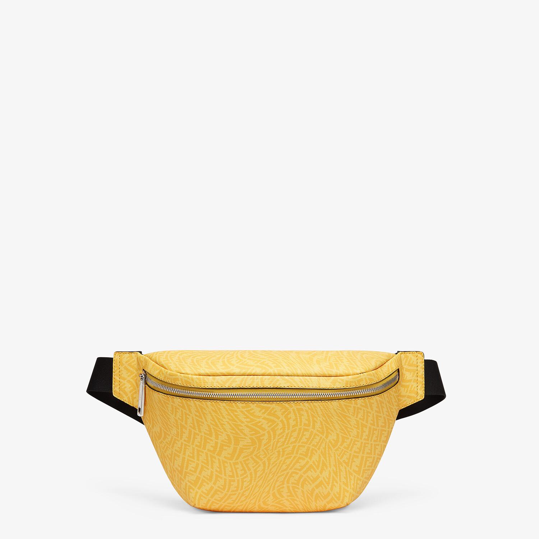 FENDI BELT BAG - Yellow fabric belt bag - view 1 detail