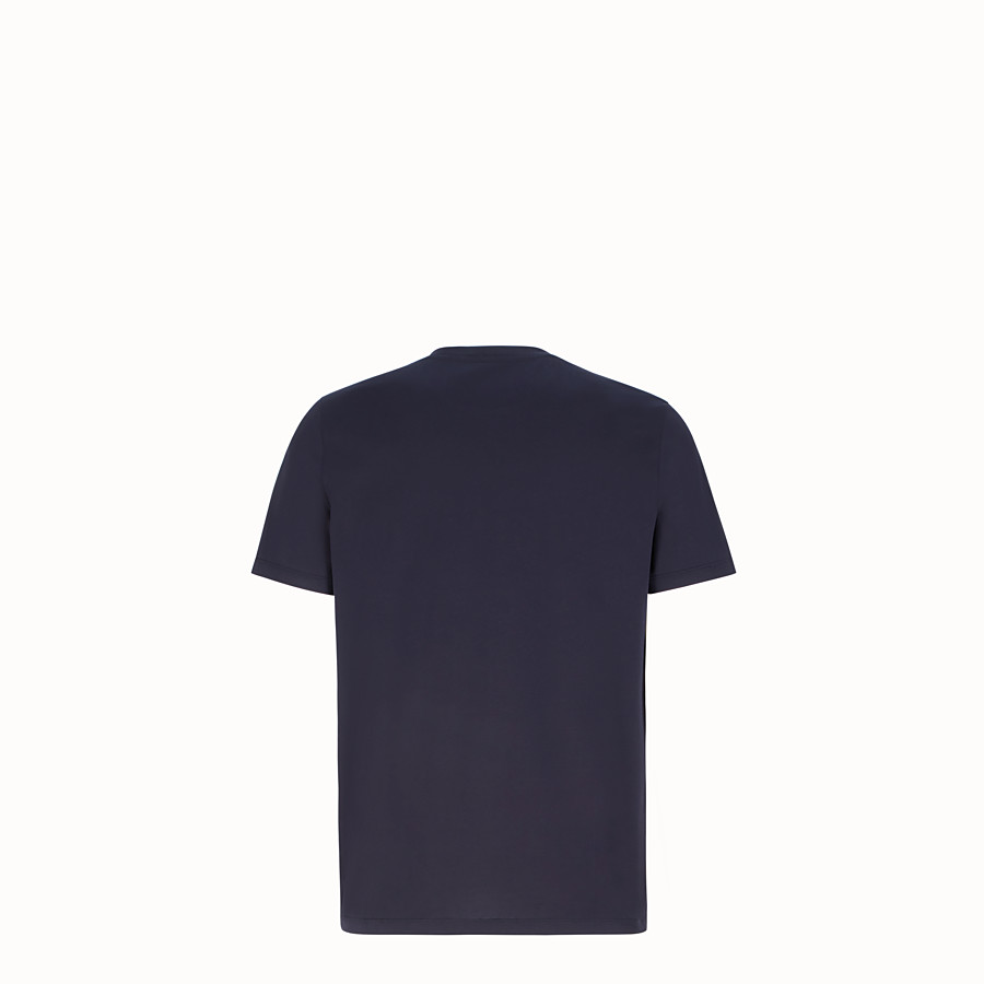 FENDI T 恤 - 深藍色棉質運動 T 恤 - view 2 detail