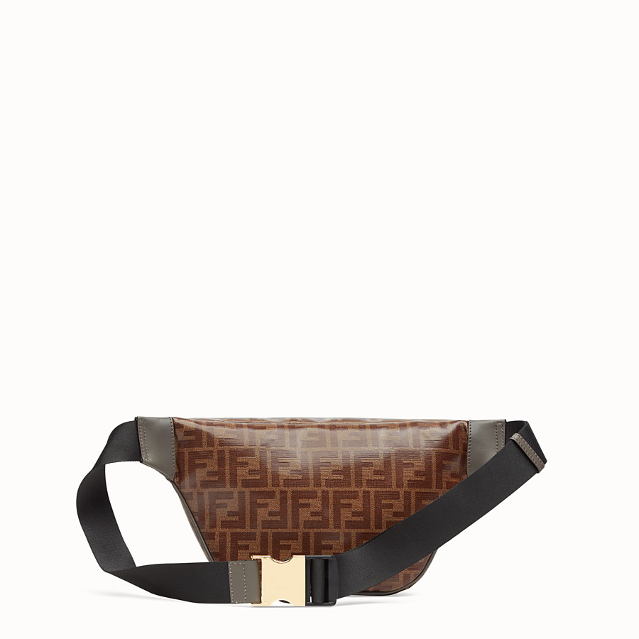 FENDI POUCH - Multicolour canvas belt bag - view 3 detail