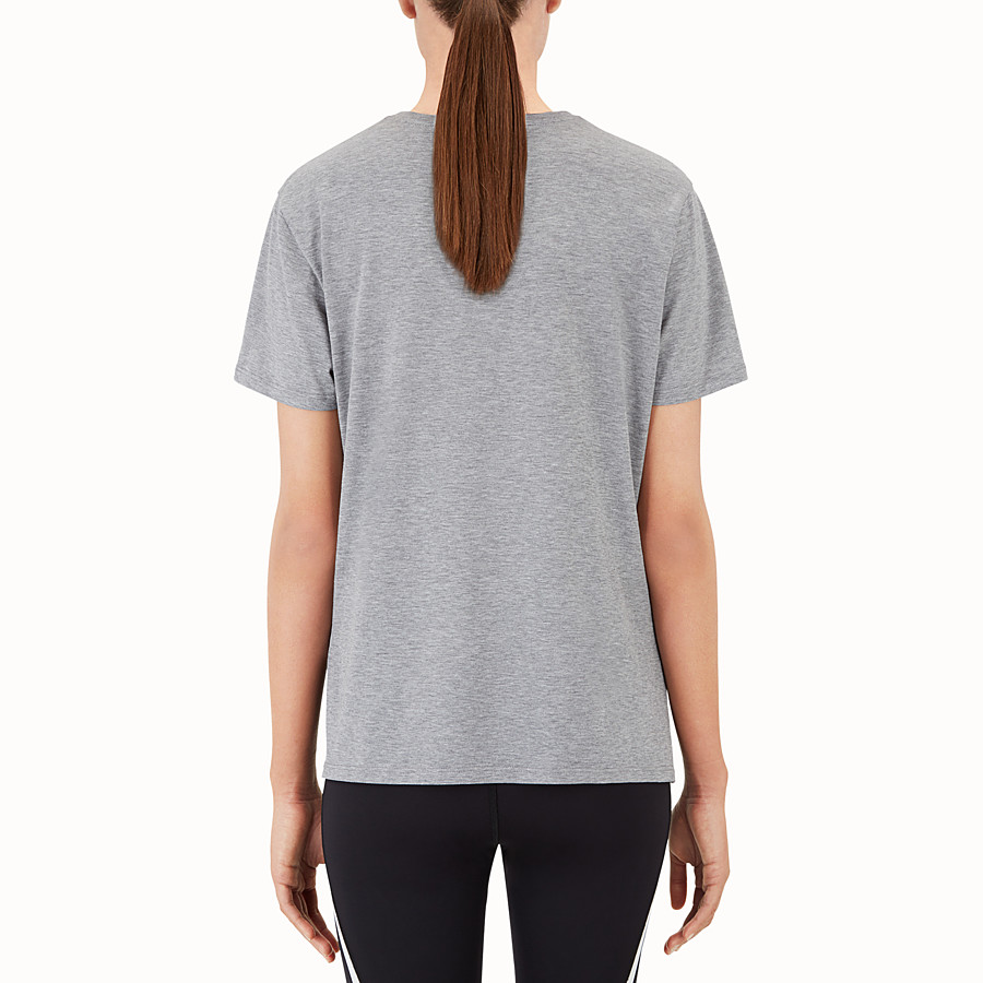 FENDI TOP - Top in grey cotton - view 2 detail