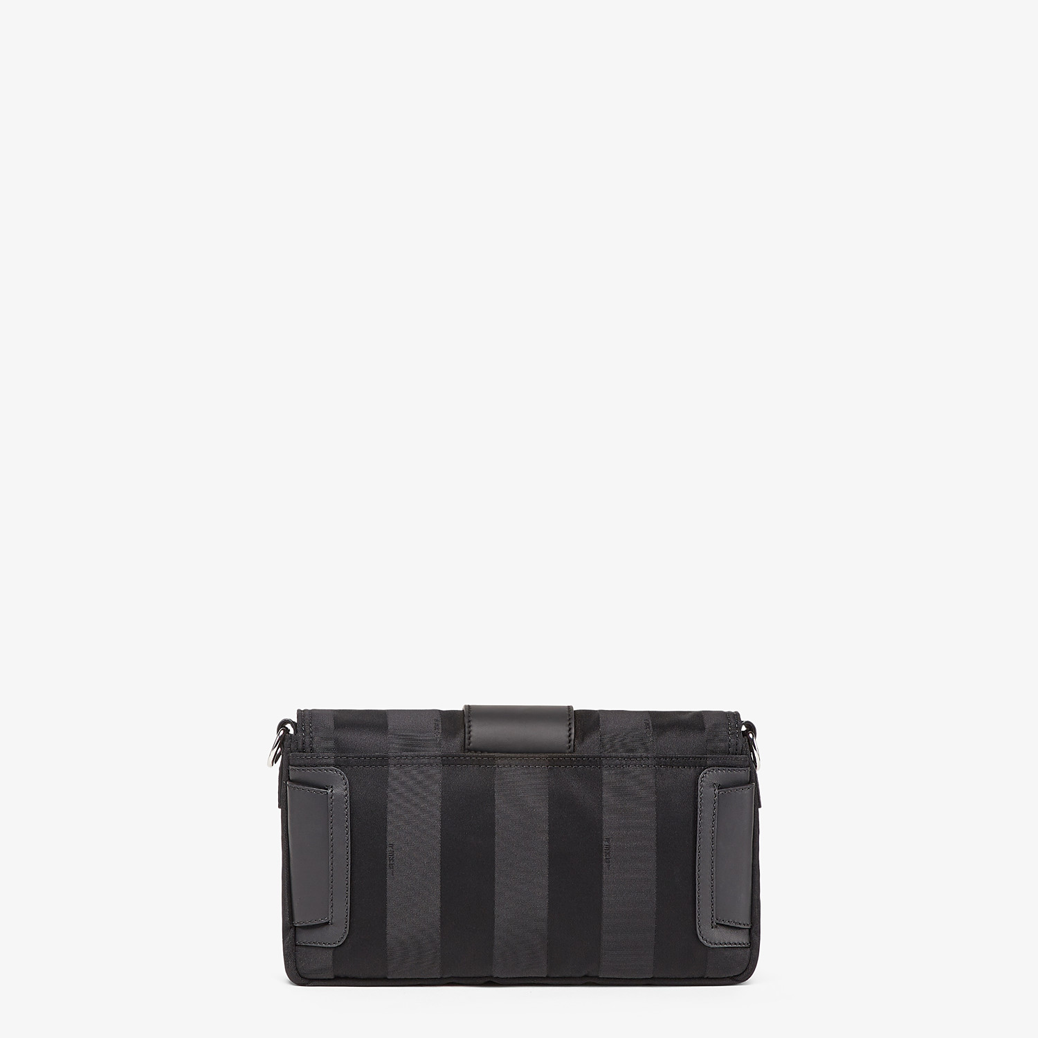 FENDI BAGUETTE - Black nylon bag - view 4 detail