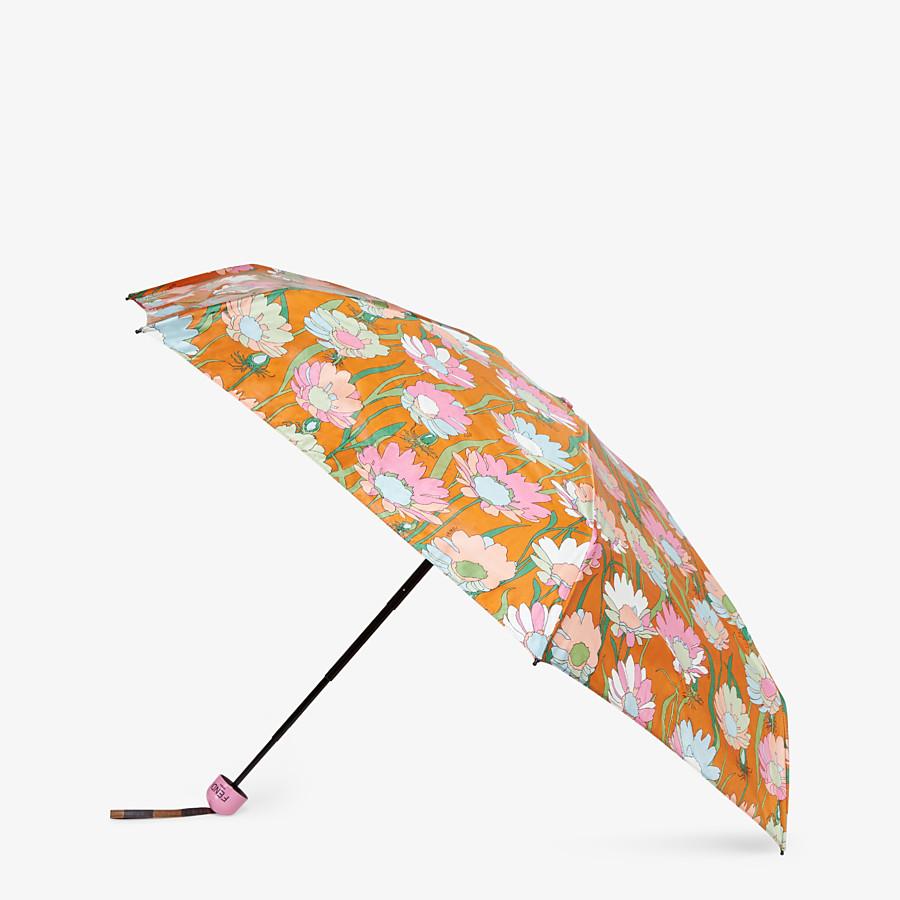 FENDI FOLDING UMBRELLA - Multicolor tech fabric umbrella - view 1 detail