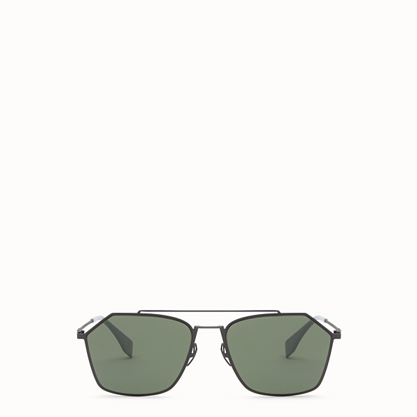 FENDI EYELINE - Grey Asian fit sunglasses - view 1 small thumbnail