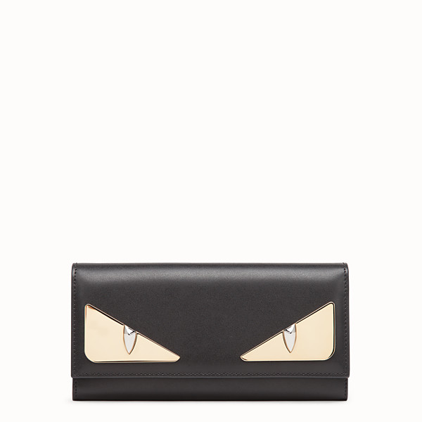 FENDI CONTINENTAL - Black leather wallet - view 1 small thumbnail