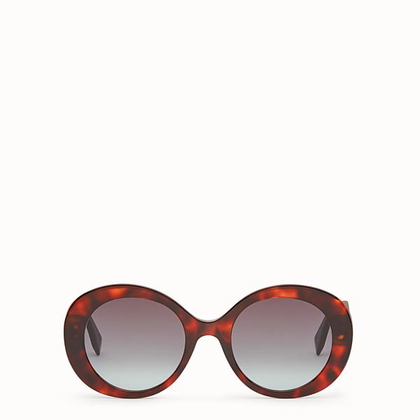 FENDI PEEKABOO - Red havana sunglasses - view 1 small thumbnail