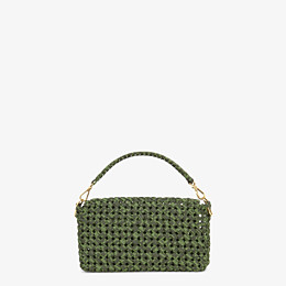 FENDI BAGUETTE - Jacquard fabric interlace bag - view 4 thumbnail