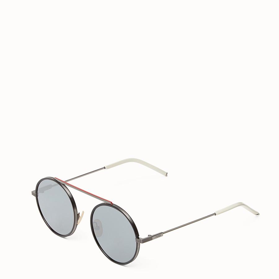 FENDI EVERYDAY FENDI - Ruthenium sunglasses - view 2 detail