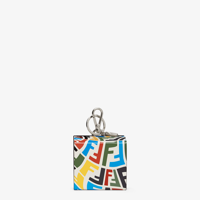 FENDI KEY CHARM - Multicolor leather key case - view 1 detail