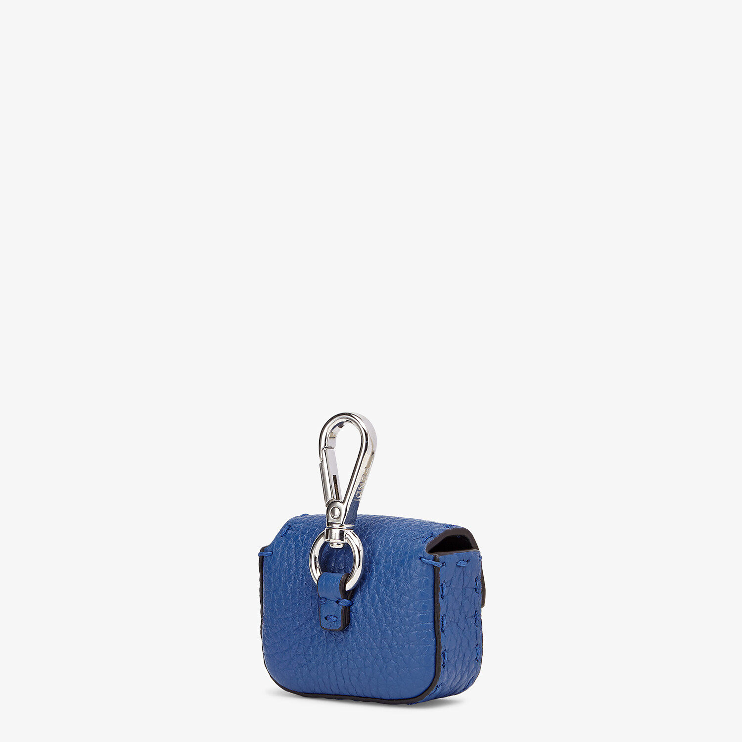 FENDI HEADPHONE HOLDER - Blue leather cover - view 2 detail