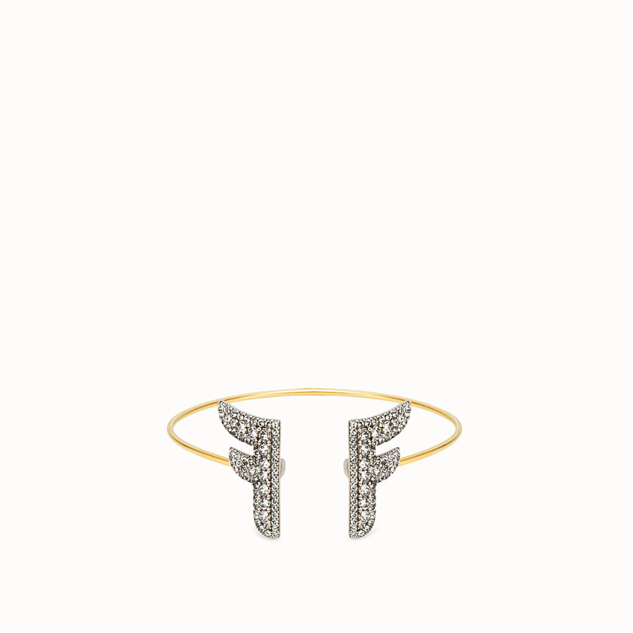 FENDI FFREEDOM BRACELET - Gold and palladium coloured bracelet - view 1 detail