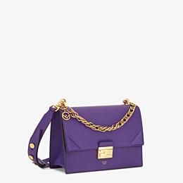 FENDI KAN U - Purple leather bag - view 2 thumbnail