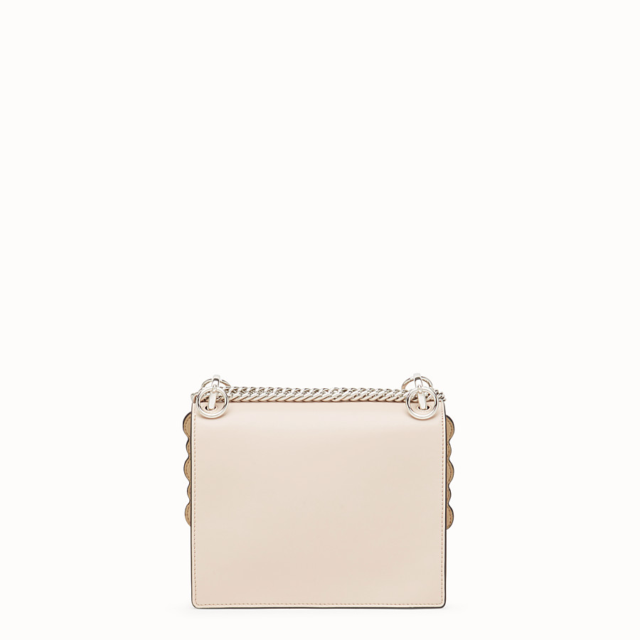 FENDI KAN I SMALL - Pink leather minibag - view 3 detail