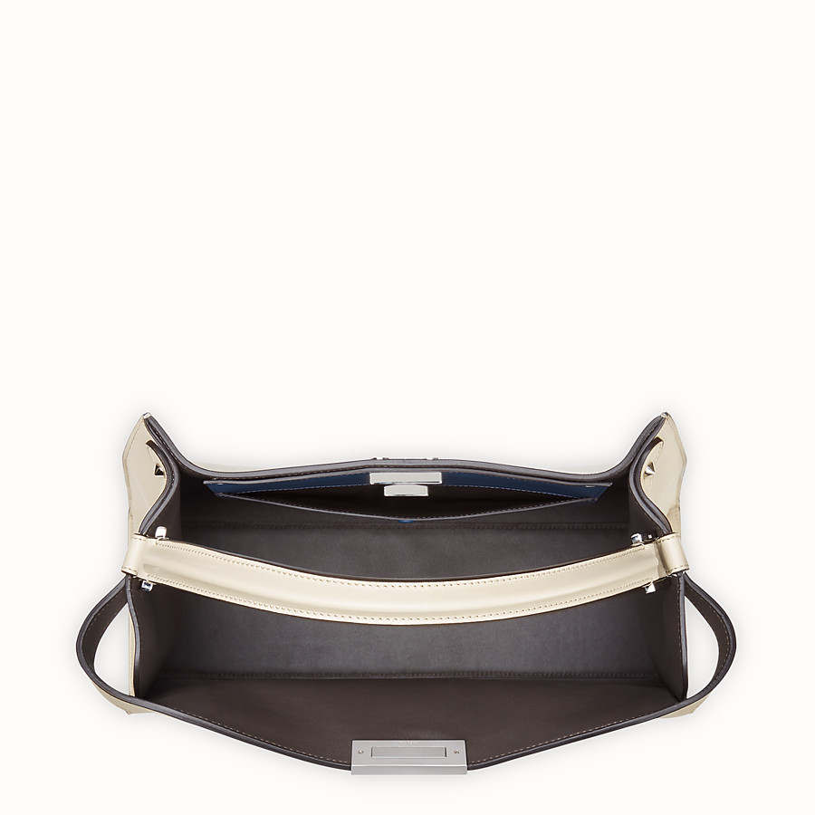 FENDI PEEKABOO X-LITE LARGE - White leather bag - view 6 detail