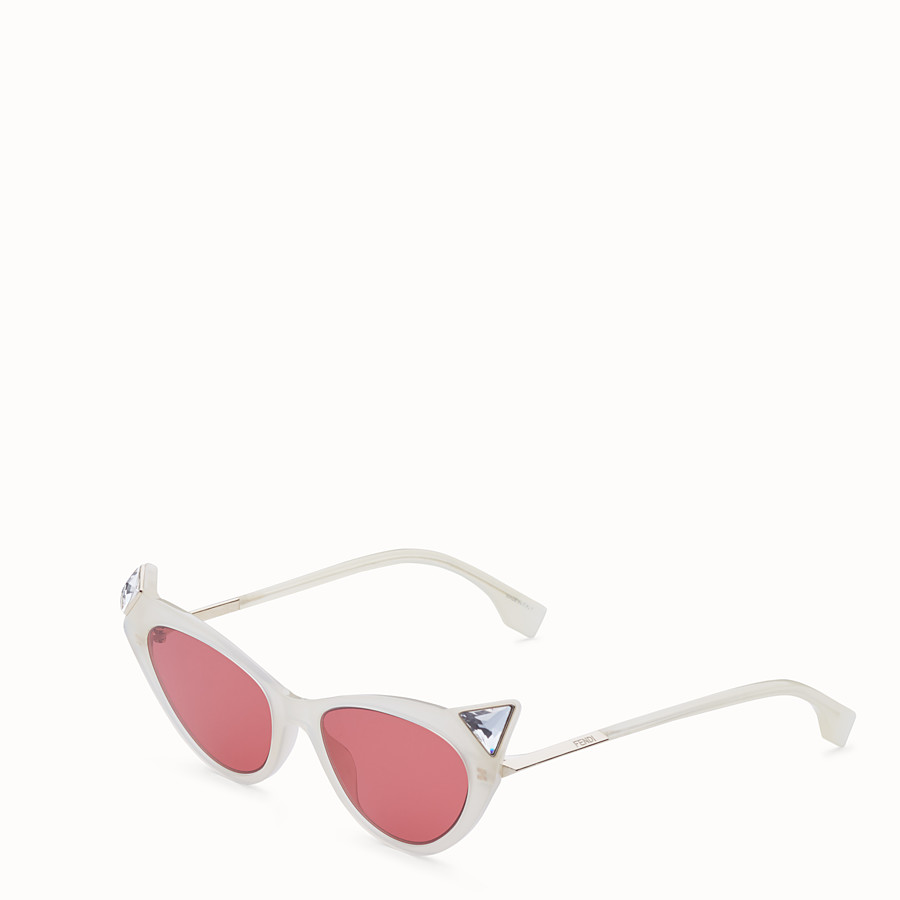 FENDI IRIDIA - Yellow opal sunglasses - view 2 detail