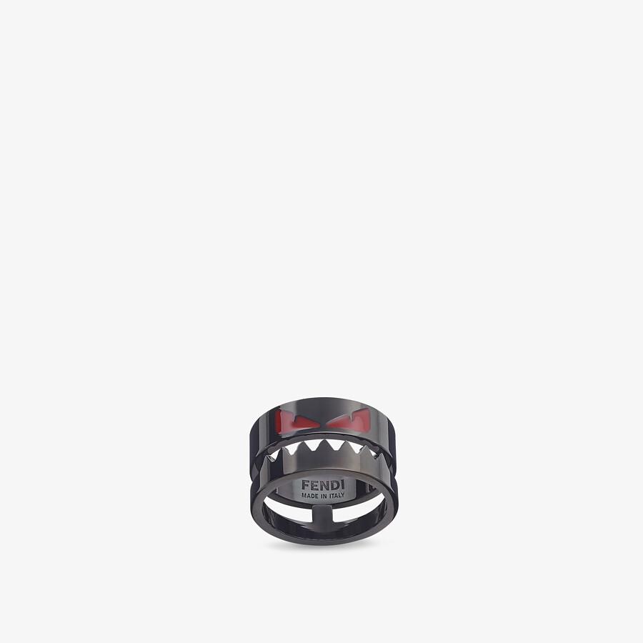 FENDI RING - Black ring - view 1 detail