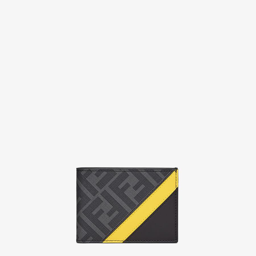 FENDI US DOLLAR WALLET - Brown fabric bi-fold - view 1 detail