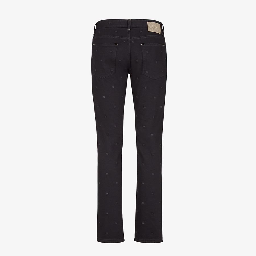 FENDI JEANS - Jeans aus Denim in Schwarz - view 2 detail
