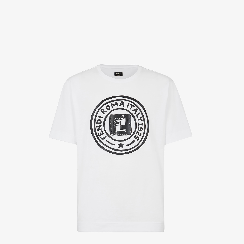 FENDI T-SHIRT - Fendi Roma Joshua Vides cotton T-shirt - view 1 detail