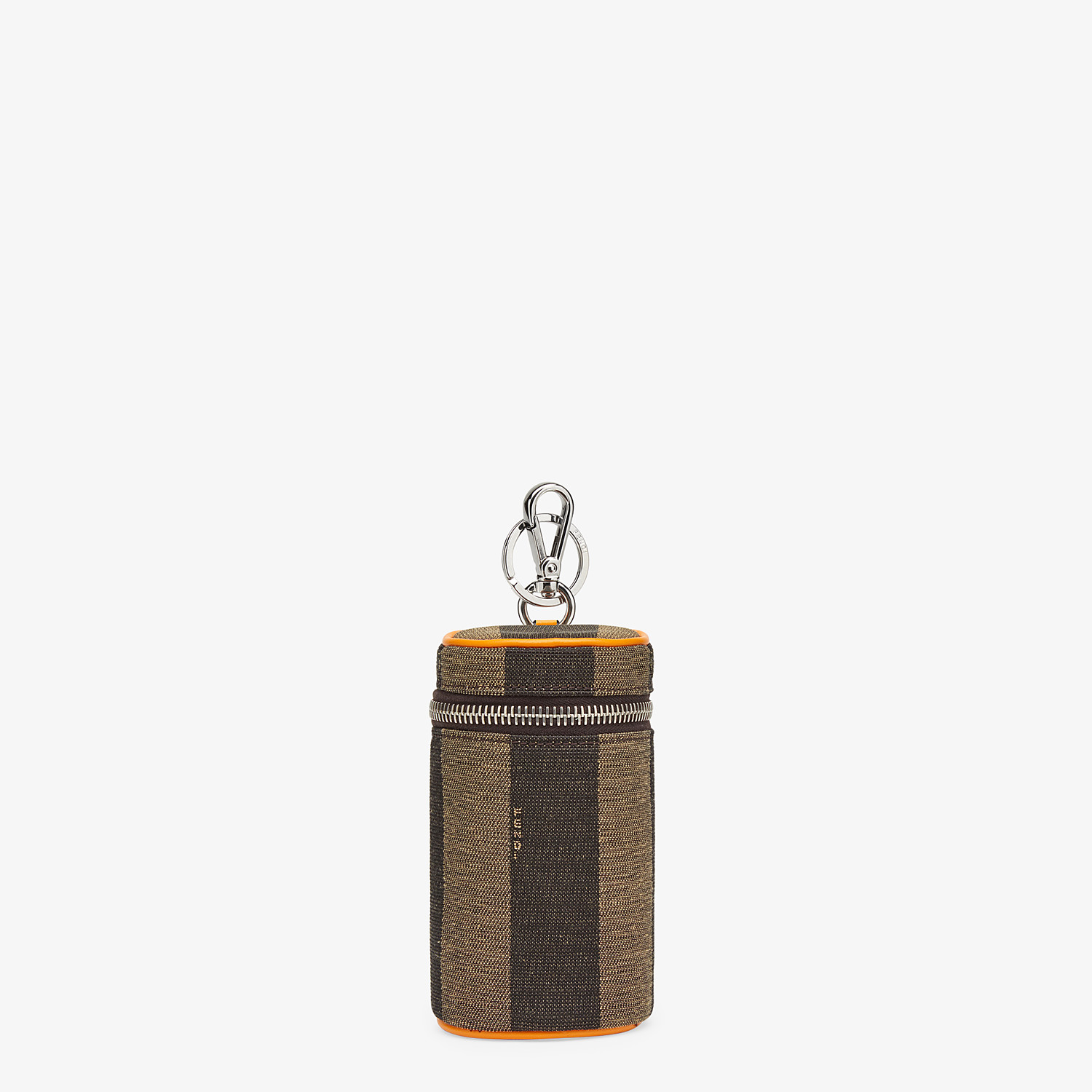 FENDI CANCASE - Brown fabric can holder - view 1 detail