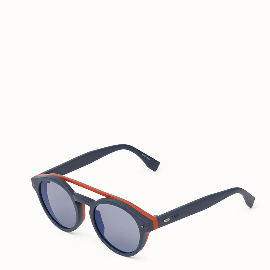 FENDI I SEE YOU - Blue sunglasses - view 2 detail
