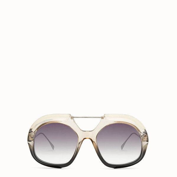 FENDI TROPICAL SHINE - Black and crystal sunglasses  - view 1 small thumbnail