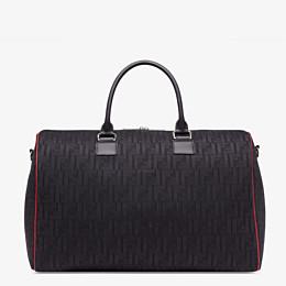 FENDI TRAVEL BAG - Large bag in black tech fabric - view 1 thumbnail