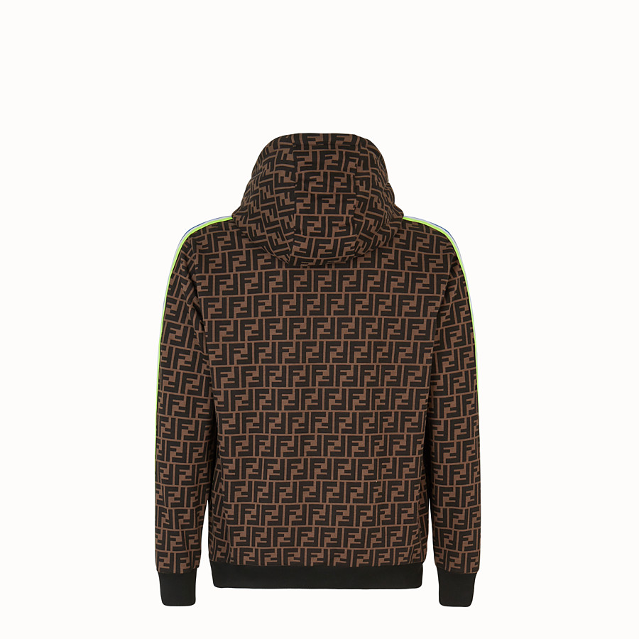 FENDI SWEATSHIRT - Fendi Roma Amor fabric sweatshirt - view 2 detail