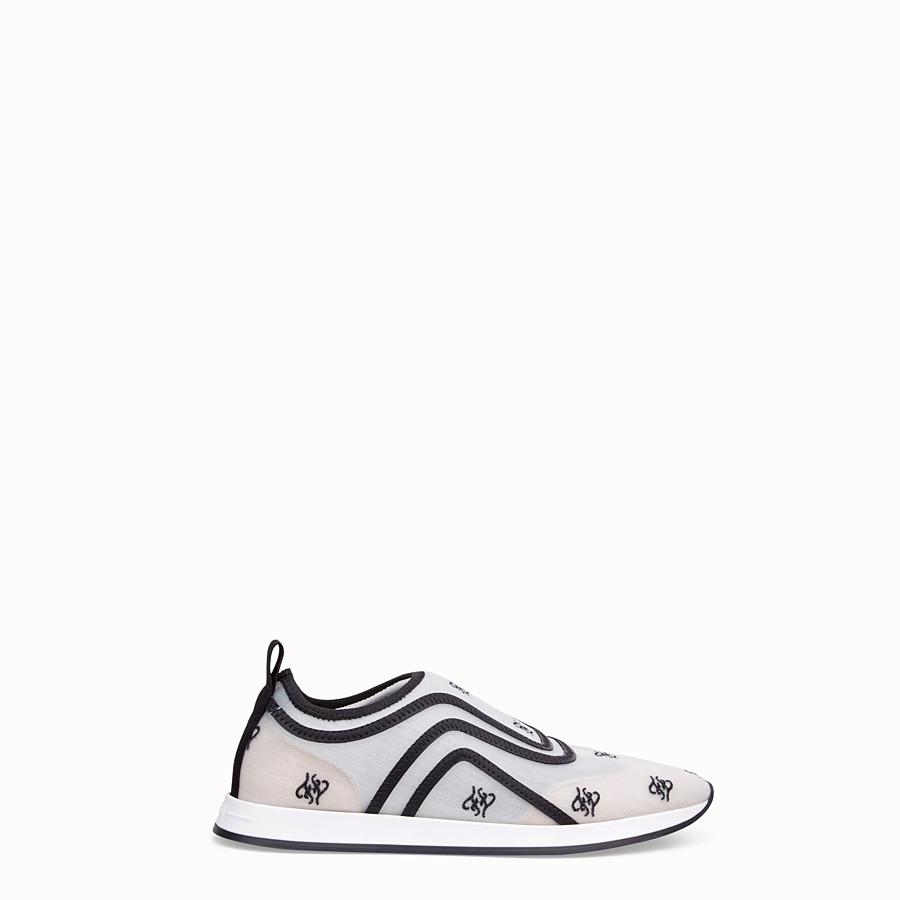 FENDI SNEAKER - Sneaker in rete bianca - vista 1 dettaglio